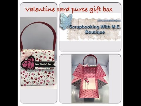 Exciting News!! & Valentine Gift Card Purse