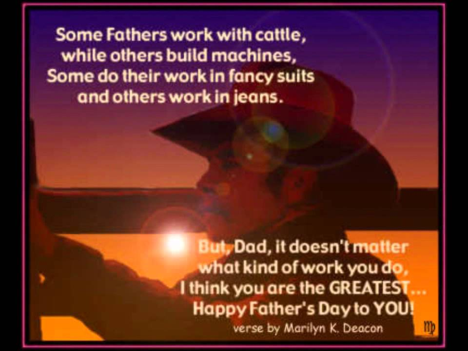 Christian Fathers Day Poems 6