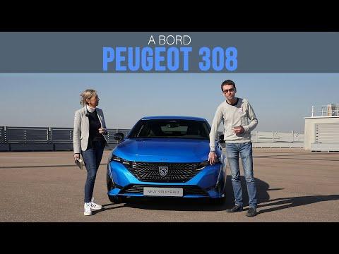 A bord de la Peugeot 308 (2021)