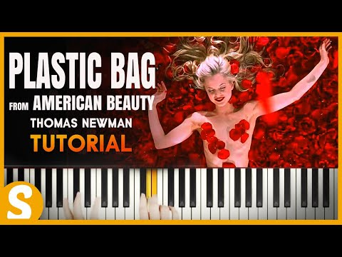 "How to play ""Plastic Bag"" from American Beauty by Thomas Newman  