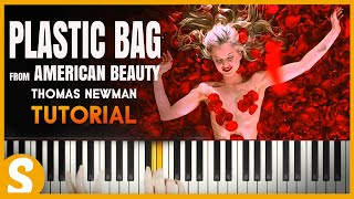 """How to play """"Plastic Bag"""" from American Beauty by Thomas Newman  