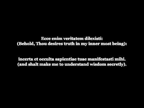 Miserere mei Deus Have Mercy on me, O God  Latin and English Lyrics