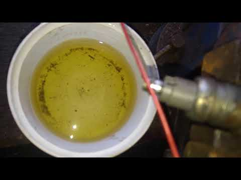 Fuel Injector Removal And Cleaning