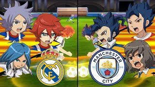 Inazuma Eleven UCL Semi-Final ~ Real Madrid vs Manchester City ※Pokemon Anchor※
