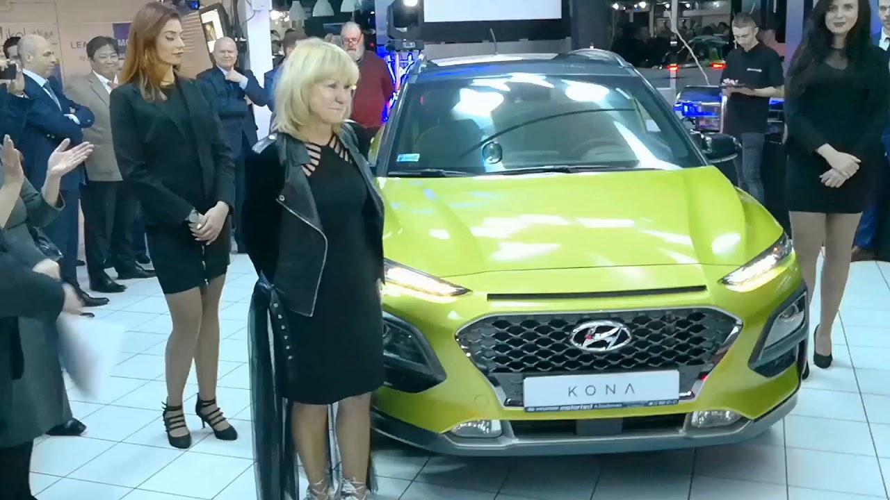 Hyundai Kona. Prezentacja. Salon Motortest Anna Szadkowska.