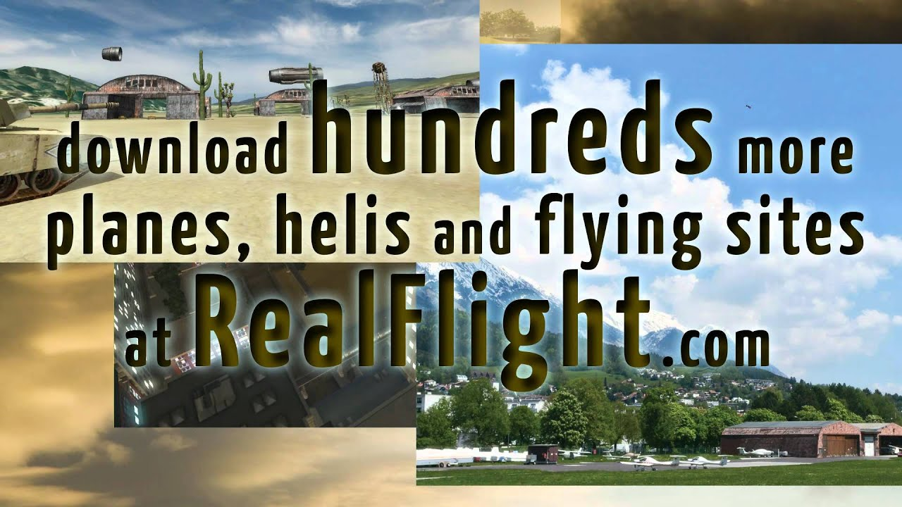 RealFlight Expansion Packs: proof that variety is the spice of flight, too