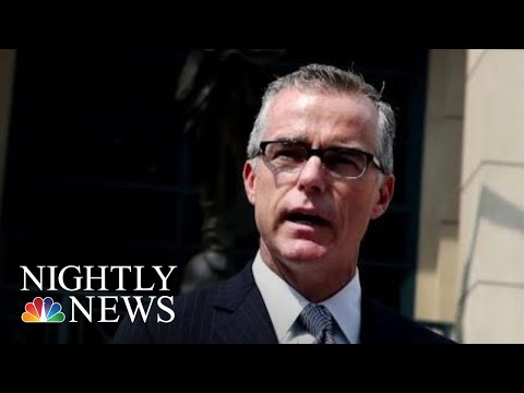 Donald Trump Accuses McCabe, Rod Rosenstein Of 'Treasonous' Plot Against Him | NBC Nightly News