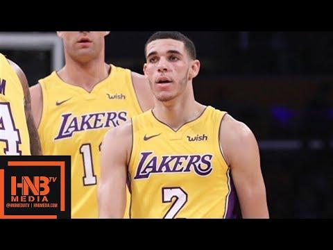 LA Lakers vs Chicago Bulls Full Game Highlights / Week 6 / 2017 NBA Season