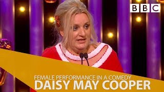 Daisy May Cooper wins Female Performance In Comedy - The BAFTAS 2018 - BBC One