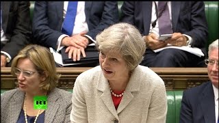 May admits she would launch nuclear strike - Trident debate