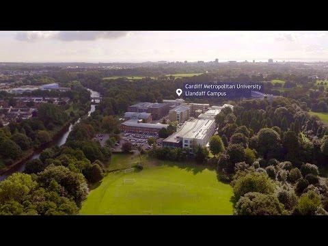 Cardiff Metropolitan University - Llandaff Campus (Drone Tour of Cardiff)