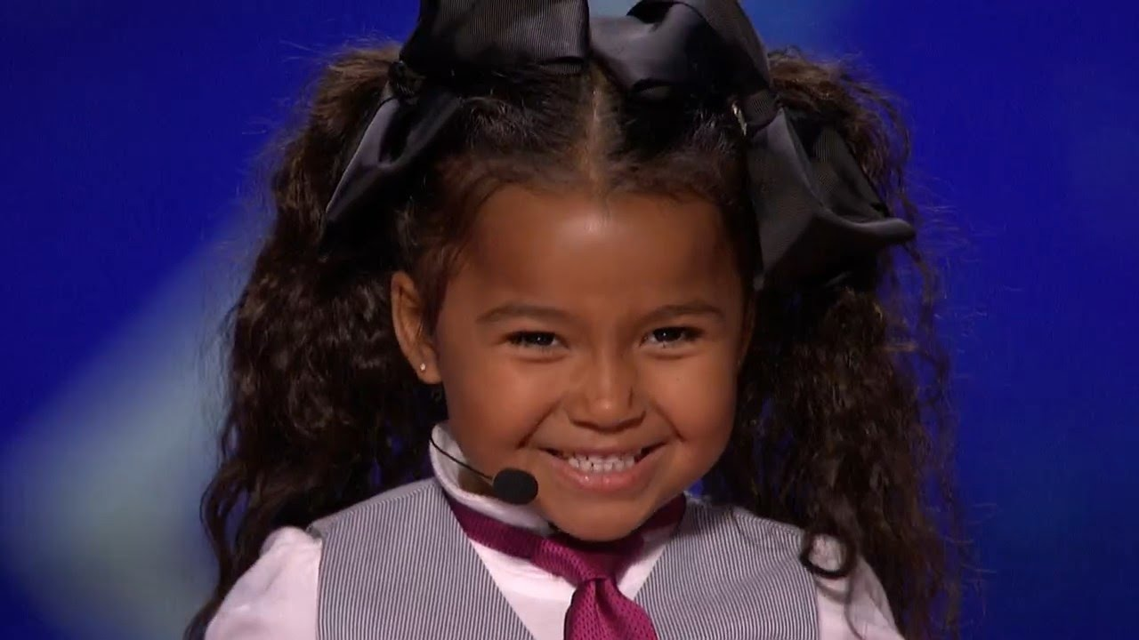 America's Got Talent 2015 S10E06 Heavenly Joy Jerkins 5 Year Old Singer Is The Next Shirley Tem
