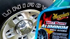 Meguiar's hot rims aluminum wheel cleaner test review