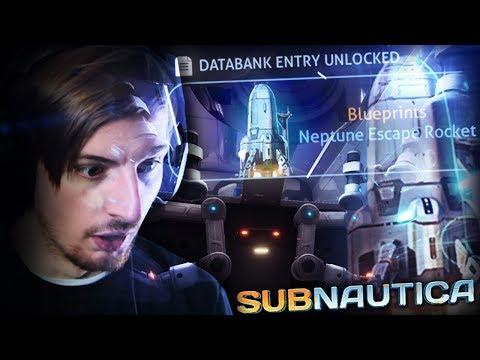 THE NEPTUNE ESCAPE ROCKET BLUEPRINTS!!? || Subnautica (Part 5) Full Release