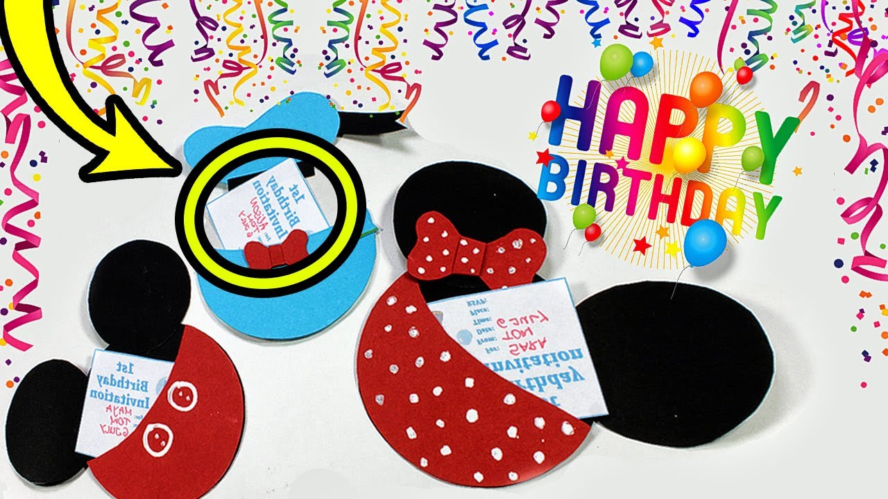 DIY Birthday Gift Cards