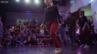 Law & Jasu vs San Andrea & B Panther (bgirl semi) // .stance // Porto World Battle 2018