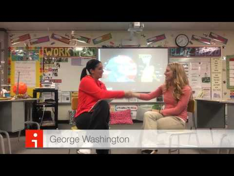 Example Biography Interview Project: George Washington & Lisa Leslie