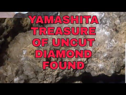 YAMASHITA TREASURE OF UNCUT DIAMONDS RECOVERED...REAL VIDEO