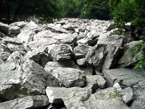 Periglacial Boulders at Loysburg Gap
