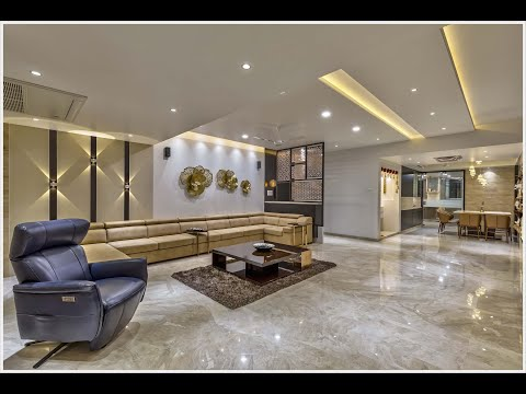 Glimpse of 4000 Sq. Ft. Apartment designed by Designer Rajesh Ranka, Pune.
