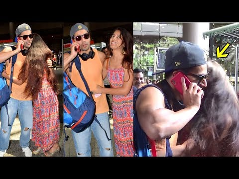 Varun Dhawan's Crazy Female Fan K!$$ED & HUGGED Him When She Saw Him On Airport Today Mp3