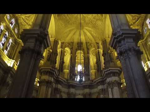 Malaga, Spain: The cathedral and the city food market