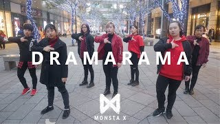 [ KPOP IN PUBLIC CHALLENGE ] MONSTA X (몬스타엑스) - DRAMARAMA (드라마라마) Dance Cover by CAMERA
