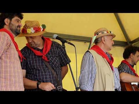 Canti popolari maremmani - Il Coro degli Etruschi  alla  Festa del Maggio 2018 Ottava Zona