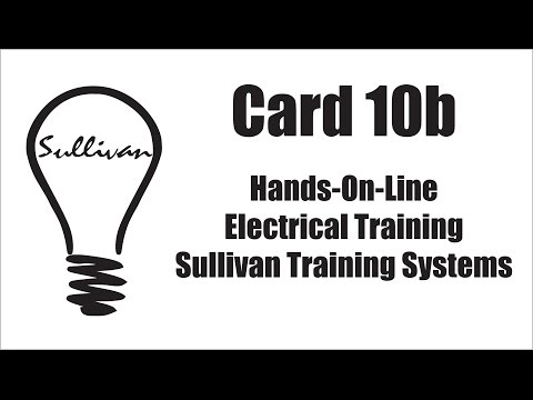 Hands-On-Line Electrical Training CARD 10b