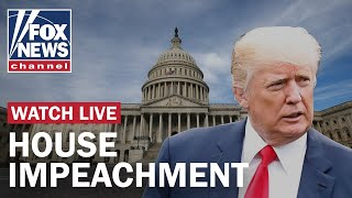 House meets threshold to impeach Trump