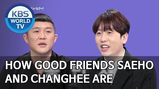 How good friends Saeho and Changhee are [Happy Together/2020.04.16]