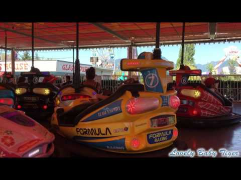 Bumper cars at the Pacific National Exhibition - Vancouver