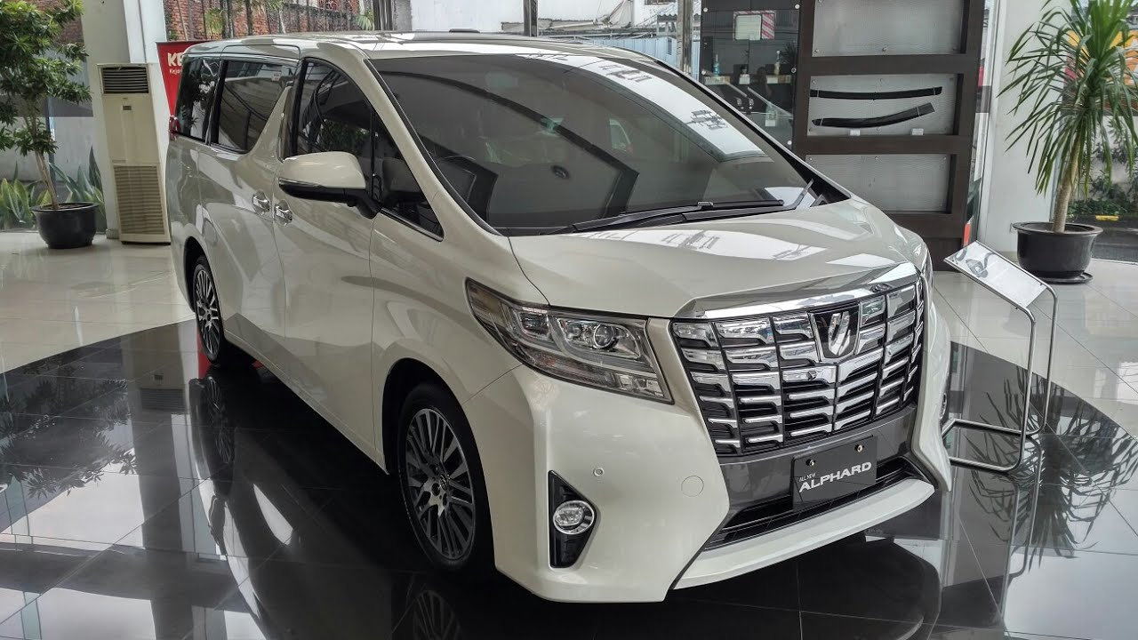 All New Toyota Alphard 2018 Indonesia Kijang Innova Ceper In Depth Tour Agh30 2 5 G Youtube