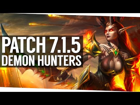 Why Demon Hunters will be amazing in 7.1.5
