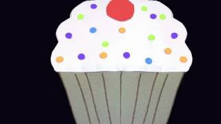 How to make a paper Cupcake - EP - simplekidscrafts