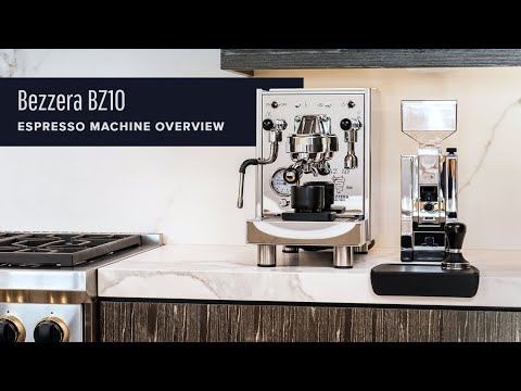 Bezzera BZ 10 Espresso Machine Overview
