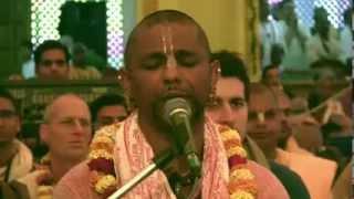 Madhava Prabhu at Kirtan Mela Mayapur 2014 Day 2