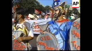 PHILIPPINES: ACTIVISTS PROTEST AGAINST APEC SUMMIT IN VANCOUVER