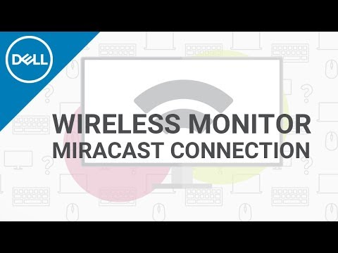 How to Connect Wireless Monitor (Official Dell Tech Support) - YouTube