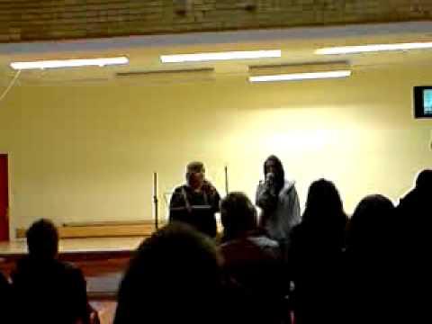 Tonje og Lill synger Hallelujah