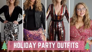 Holiday Party Outfits || ASOS Try On Haul