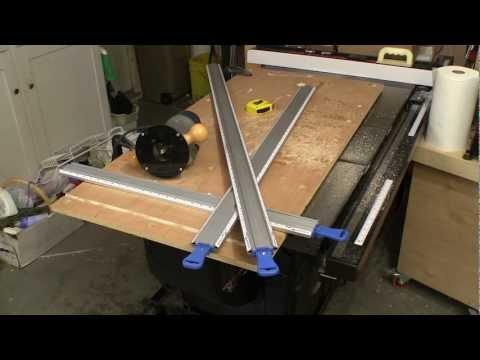 Silverline Dual-Purpose Guide Clamp Straight Edge Guide Rail