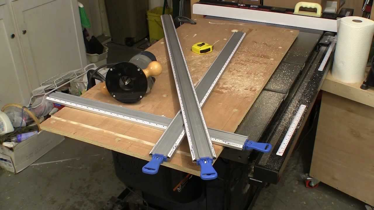 Woodworking Straight Edge Guide