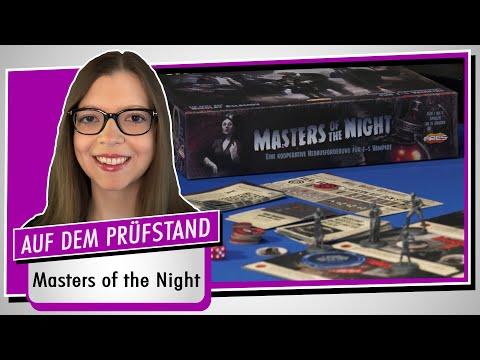 Spiel doch mal MASTERS OF THE NIGHT! - Brettspiel Rezension Meinung Test #382