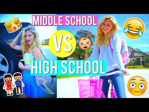 MIDDLE SCHOOL VS HIGH SCHOOL YOU   Kalista Elaine