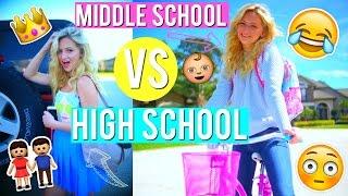 High school vs middle school you | kalista elaine