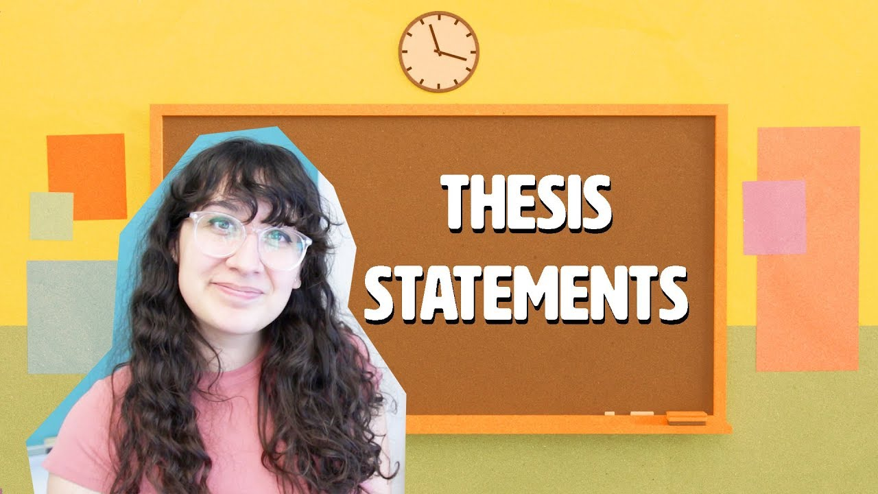 how to write an essay thesis statements  youtube how to write an essay thesis statements
