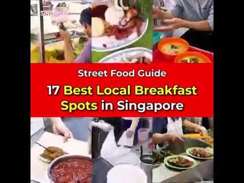 17 best breakfast spots in Singapore is calling!