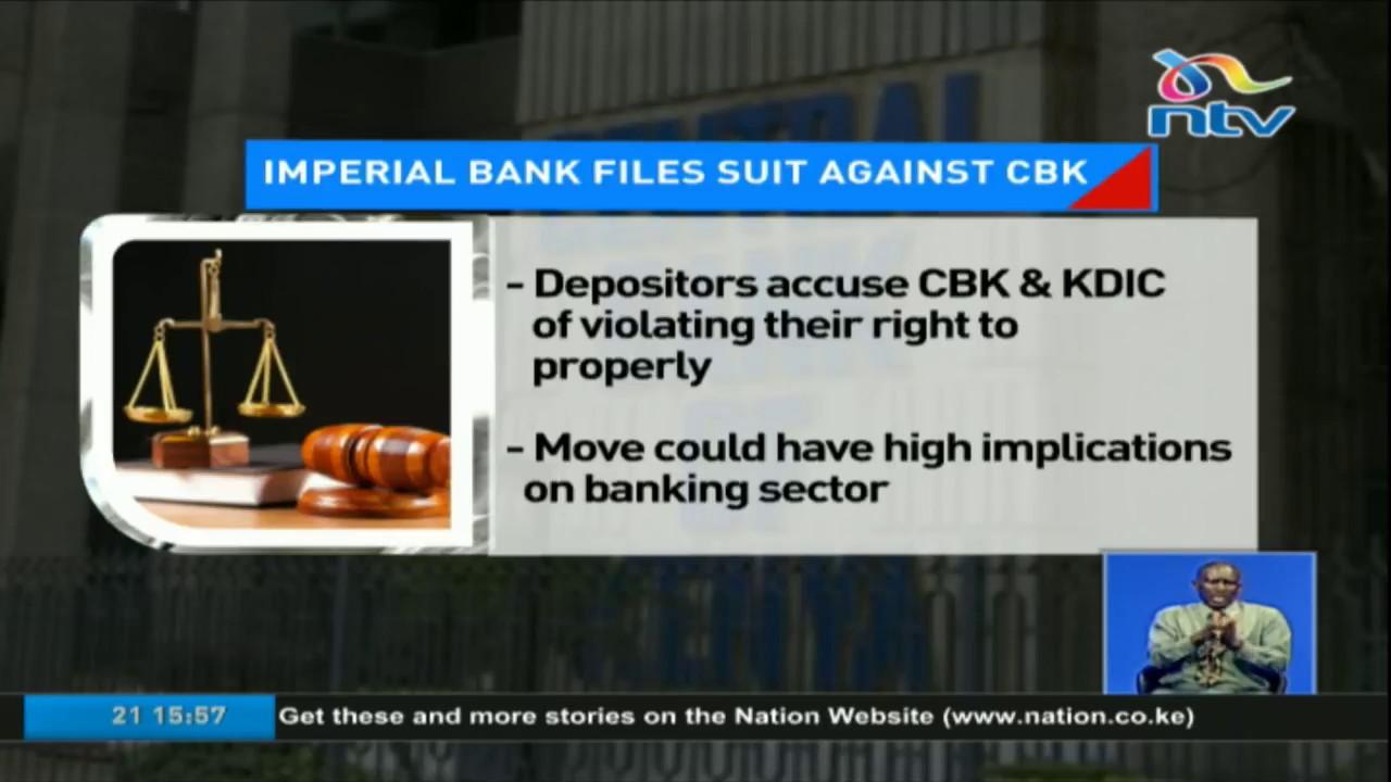 Imperial Bank depositors file Ksh 100bn class action suit against CBK