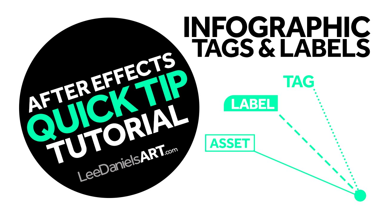 after effects tutorial quick tip infographic tags labels youtube